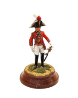 ToL 390 - British Officer Napoleonic War Painted in Matt on wooden base
