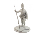 Series 77 - 12-5 Prussian Fusilier 1776 1776 - Unpainted