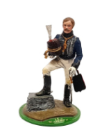 Series 77 - 4-5 Officer British Cavalry 1799-1815 - Painted in Matt