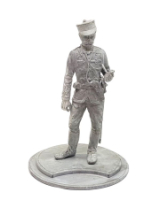 Series 77 - 8-6 Officer Infantry Regiment Canadian Militia 1885 - Unpainted