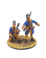 DO-J-007 - Swedish Grenadiers with grenade launcher - Digital-Sculpt-Figures - 54mm Painted