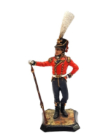 Barton Miniatures - K03 Prince of-Wales Volunteer - 90mm Painted