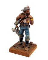 REAL MODELS RM 5 - Private of the 8th Texas Cavalry in Campaign dress Painted