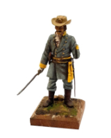 REAL MODELS RM 6 - Officer of the Confederate Cavalry c.1865 Painted