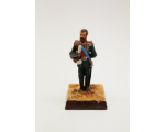ToL 489 - Nicholas II, the last Russian Emperor 1894–1917 Painted on wooden base