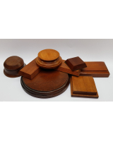 Wooden Bases/ Plinths Various sizes No.001