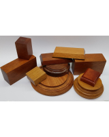 Wooden Bases/ Plinths Various sizes No.003