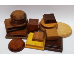Wooden Bases/ Plinths Various sizes No.004