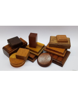 Wooden Bases/ Plinths Various sizes No.005