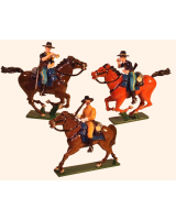1207 Toy Soldier Set 7th Cavalry Regiment Painted