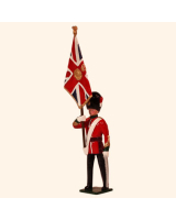 0027 1 Toy Soldier Officer with Queens Colour Kit
