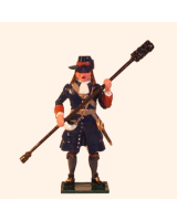 0304-4 Toy Soldier Gunner with Ramrod of the Marlborough Artillery Kit