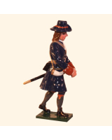 0304-5 Toy Soldier Gunner with Shell of the Marlborough Artillery Kit