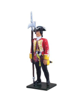 47033 British 35th Regiment of Foot NCO, 1754-1763