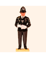 565 Toy Soldier Set Police Constable Painted