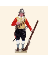 0067-8 Toy Soldier Set Musketeer Kit