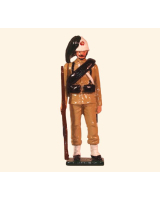 0072 3 Toy Soldier Private Italian Bersaglieri China 1900 Kit