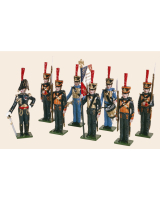 0720 Toy Soldiers Set French Marines Painted