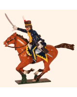 0761 2 Toy Soldier Trooper 7th Queens Own Hussars Kit