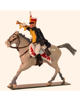 0762-3 Toy Soldiers Trumpeter 10th Prince of Wales's Own Hussars