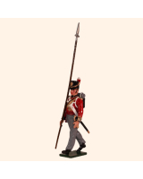 0764 4 Toy Soldier Sergeant with pike Kit