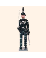 0084 1 Toy Soldier Officer marching Kit