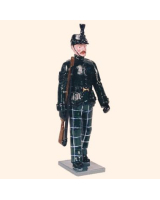 0084 2 Toy Soldier Sergeant marching Kit