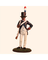 Del Prado 010 Free Fusilier Martinique National Guard 1802-1809 Painted