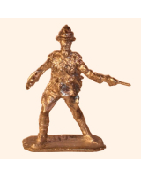 G 33 Officer 21st Lancers with Pistol on 30mm Willie Foot Kit