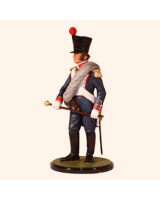 JW80 15 French Napoleonic Infantry Officer Spanish Campaign Painted