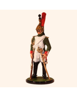 JW80 18 French Imperial Guard Dragoons Trooper 1812 Painted