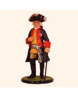 JW80 20 Prussian General Officer Seven Years War 1756-1762 Painted
