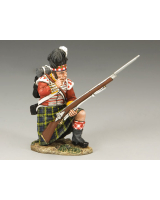 NA204 Gordon Highlander Kneeling Loading King and Country
