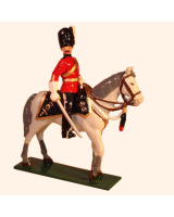 M101 Toy Soldier Set Officer, Royal Scots Greys Painted