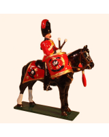 M103 Toy Soldier Set Kettledrummer, Royal Scots Greys Painted