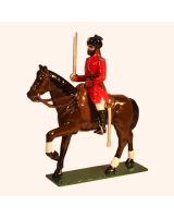 M211 Toy Soldiers Set Sergeant 4th Bengal Lancers 1900 Painted