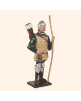 MS2-3 Toy Soldier Set English Archer The Battle of Agincourt Kit