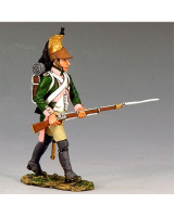NA176 The French Army 16th Dragoon Advancing Forward King and Country