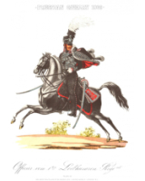 Plate No.058-02 Officer Prussian Cavalry 1809