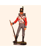 RC110 02 British Private 3rd Foot Guards 1815 Painted