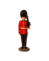 RPWM-01 Scots Guards private at attention with SA80 rifle Painted