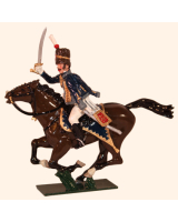 0760 1 Toy Soldier Officer 7th Queens Own Hussars Kit
