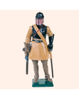 0511 Toy Soldier Set Trooper - The Parliamentary Horse Painted