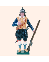 0512 Toy Soldier Set Musketeer - The Trained Bands Painted