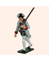 0623 4 Toy Soldier Private French Infantry La Reine Regiment Kit