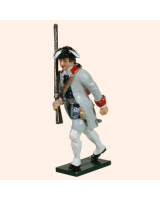 0623 5 Toy Soldier Private French Infantry La Reine Regiment Kit