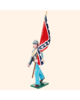 0910 2 Toy Soldier Colour Bearer marching Kit