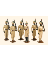 033 Toy Soldiers Set 29th Punjab Infantry Painted