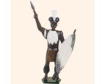 502 Toy Soldier Zulu Warrior Kit
