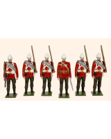 054 Toy Soldiers Set The Royal West Kent Regiment Egypt 1882 Painted